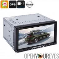 2DIN lecteur DVD de voiture - universel Nissan, 6,95 pouces, Android OS, Quad-Core, CAN-BUS, lecteur DVD, canal 20 GPS
