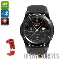 N ° 1 du G8 Phone Watch - 1 IMEI, Bluetooth 4.0, dormir moniteur, podomètre, rappel sédentaire, moniteur de fréquence cardiaque