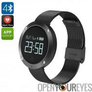 UNIK Bluetooth 2 Watch - la tension artérielle, fréquence cardiaque, podomètre, compteur de calories, dormir moniteur, rappel s