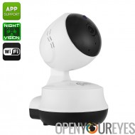 IP caméra Neo Coolcam NIP-61GE - 1MP CMOS, 720p, anti-IR, Vision nocturne 10m, détection de mouvement, Support de l'App, WiFi,