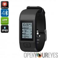 Hesvit G1 puce Bluetooth Bracelet - podomètre, fréquence cardiaque, température, moniteur de sommeil, de peau Calories brûlées