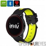ORDRO CF007 montre Bluetooth - pression artérielle, fréquence cardiaque, podomètre, Calories brûlées, Support de l'App, Bluetoo