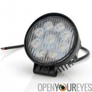 Lampe de travail LED 27W CREE - 9 x 3W, lumière de véhicules (camions, Jeep, Off-Road), IP65 étanche Rating