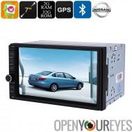 2 DIN voiture lecteur multimédia - écran 7 pouces, pour les voitures Nissan, Bluetooth, WiFi, 3G, Octa-Core, 2Go de RAM, GPS, é
