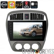 Un DIN Android Media Player - Android 6.0, 10.2 pouces, pour les voitures Nissan, WiFi, 3G, CAN-BUS, Octa-Core, 2Go de RAM, GPS