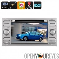 Double-DIN voiture lecteur DVD - s'intègre de nombreuses voitures Ford, Android OS, Octa-Core, 2Go de RAM, Bluetooth, 3G, GPS,