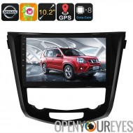 1 DIN-autoradio - pour Nissan X Trail, Android 6.0, Bluetooth, WiFi, Dongle de Support 3G, GPS, peut BUS, Octa-Core CPU, 2 Go d