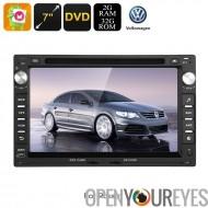 2 DIN lecteur DVD de voiture - pour Volkswagen Passat (B5), Android 6.0, Octa-Core CPU, écran 7 pouces HD, GPS, WiFi, 3G, CAN-B