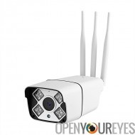 Outdoor HD sécurité caméra - IP66 de note, Android/iOS APP, 15m de Vision nocturne, 3G & 4 G, 960p, ONVIF, IR Cut
