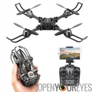iDrone i5 appareil photo Drone - Altitude Hold, Hedless Mode, Waypoints suivez, FPV App, caméra, pliable, 6 axes Gyro