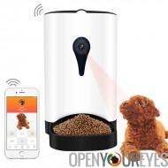 Distributeur automatique de nourriture - App Control, appareil photo 1MP, haut-parleur, 4,3 L Canon, Compatible avec iOS et And