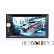Universal 2 DIN lecteur DVD de voiture Android - 6,2 pouces, GPS, CAN-BUS, Bluetooth, WIFI