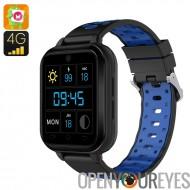 Finow Q1 Pro Android Smart Watch - 4G, 1,54 pouces tactile écran, capteur de fréquence cardiaque, podomètre, 6.0 Android, appar