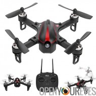 MJX Bugs 3 Drone - moteurs Brushless, deux vitesses, 6 axes Gyro, 1800mAh LiPo batterie