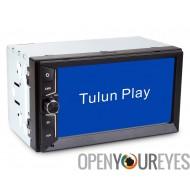 2 DIN fixe panneau voiture Media Player - 6,5 pouces, AM / FM, RDS, USB, Bluetooth