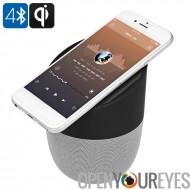 Haut-parleur Bluetooth avec chargeur sans fil - BT 4.2, haut-parleurs de 5 watts, Qi Wireless charge, batterie 1800mAh