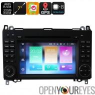 7 pouces voiture lecteur DVD pour le Mercedes Benz - double-Din, Octa Core, 4 + 32 GB, peuvent supporter de Bus, GPS, 3G et 4G,