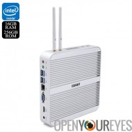 Hystou FMP03 Barebones Mini PC - Processeur i5-5200U, 16 Go de RAM, 256 Go de mémoire, Support SATA, une licence Windows 10, Wi