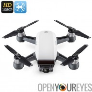 DJI étincelle Mini Drone - 1080p, capteur 3D System, 50Km/h, FPV, WiFi, geste Mode, Auto décollage atterrissage, CM