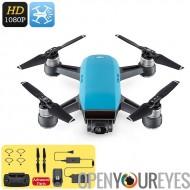 DJI étincelle Mini Drone - 1080p caméra CMOS 12MP, système de capteurs 3D, WiFi, FPV, 50KM/h, geste Mode, Auto au décollage et