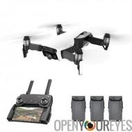 DJI Mavic Drone Combo Pack - 4K caméra, 32 MP sphère Panoramas, SmartCapture, GPS/GLONASS Max vol 21 minutes le temps d'antenne