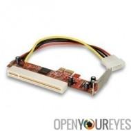 adaptateur PCIe à PCI Low Profile