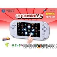 Nouveau G18-A Android écran capacitif Cinq tactile de la console de jeu gratuit Retro Game + MicroSD 16Gb