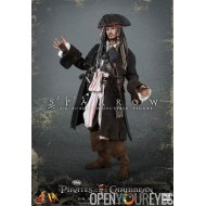 Action Figure Pirates des Caraïbes, le capitaine Jack Sparrow échelle 1/6 Peint à la main par collection