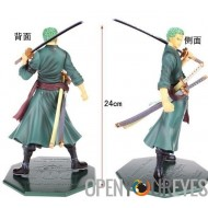 Figurines One Piece Zoro Échelle 1/8 de Megahouse 24cm