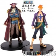 Figurines Banpresto One Piece Set 2 Personnages: Marco & Gol D Roger