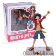 Action Figure Ben Dettagliato One Piece Monkey D Rufy 15cm Bandai
