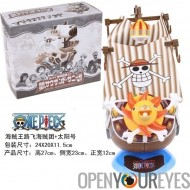 One Piece Thousand Sunny Ship OnePiece capitaine Monkey D. Luffy