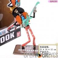 One Piece Figurine Bandai Modèle OnePiece Brook Haute Qualité