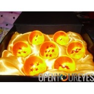 DRAGON BALL Z SET COMPLETO 7 SFERE DEL DRAGO + COFANETTO