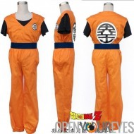 Manga Robe Cosplay Dragon Ball Z Dragon Ball Son Goku