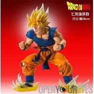 Dragon Ball Z Dragon Ball Figurine Super Saiyan Goku Manga de bonne qualité