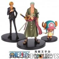One Piece Set Zoro Sanji Tony Chopper Figurine Manga OnePiece Pirate des Caraïbes