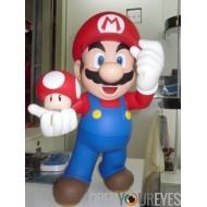 Super Mario Bross Jeux Ping Pong Figurine en PVC Vinyl Figure Manga 30cm Actionfigure