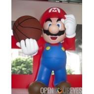Super Mario Bross Sport Basket Jeux Vinyl Figurine en PVC Figures Manga 30cm Actionfigure