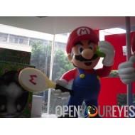 Super Mario Bros Tennis Jeux Vinyl Figurine en PVC Figures Manga Cult 30cm