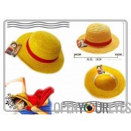 Cosplay One Piece Anime Manga Cappello in Paglia Capitan Monkey D Luffy