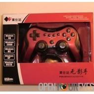 Contrôleur de jeu sans fil pad console Compatible Android et PC + câble OTG