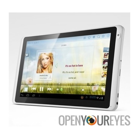 "Dual Core Tablet PC Ramos Écran capacitif 10"" Ultra Slim Tablet Android 4 ICS Console"